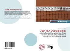 Borítókép a  2004 RCA Championships - hoz
