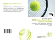 Capa do livro de 2004 Allianz Suisse Open Gstaad – Singles