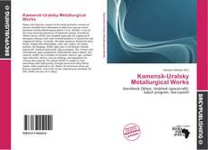 Bookcover of Kamensk-Uralsky Metallurgical Works