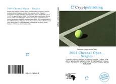Copertina di 2004 Chennai Open – Singles