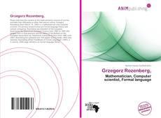 Bookcover of Grzegorz Rozenberg,