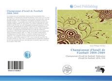 Bookcover of Championnat d'Israël de Football 2008-2009