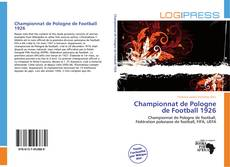 Bookcover of Championnat de Pologne de Football 1926