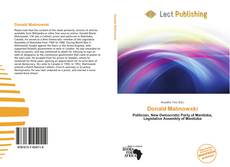 Bookcover of Donald Malinowski