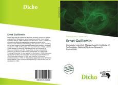 Buchcover von Ernst Guillemin