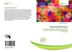 Portada del libro de Abdelatif Bahdari