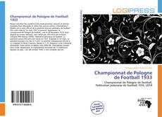 Bookcover of Championnat de Pologne de Football 1933