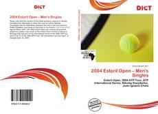Buchcover von 2004 Estoril Open – Men's Singles