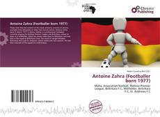 Bookcover of Antoine Zahra (Footballer born 1977)