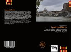 Louis de Misnie的封面