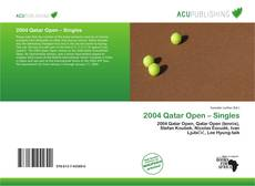 Bookcover of 2004 Qatar Open – Singles