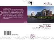 Buchcover von Thibaut du Bec