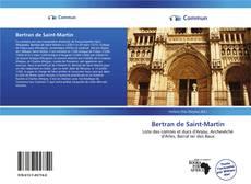 Couverture de Bertran de Saint-Martin