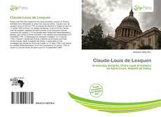 Claude-Louis de Lesquen的封面