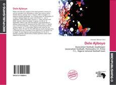 Dele Ajiboye kitap kapağı