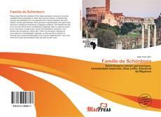 Couverture de Famille de Schönborn