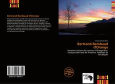Bertrand-Rambaud d'Orange kitap kapağı