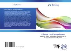Buchcover von Edward Leo Krumpelmann