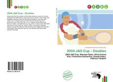 Bookcover of 2004 J&S Cup – Doubles