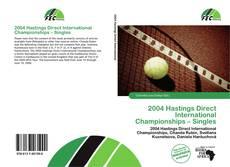 Обложка 2004 Hastings Direct International Championships – Singles