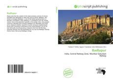 Bookcover of Badlapur