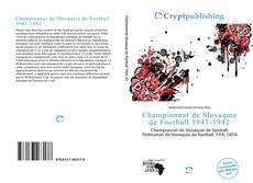 Championnat de Slovaquie de Football 1941-1942 kitap kapağı