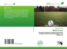 Bookcover of Maik Franz