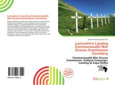 Bookcover of Lancashire Landing Commonwealth War Graves Commission Cemetery