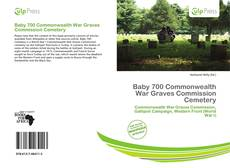 Portada del libro de Baby 700 Commonwealth War Graves Commission Cemetery