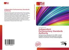 Bookcover of Independent Parliamentary Standards Authority