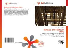 Bookcover of Ministry of Petroleum (Iran)