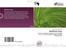 Bookcover of Matthias Feys