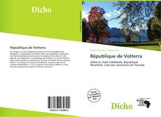Bookcover of République de Volterra
