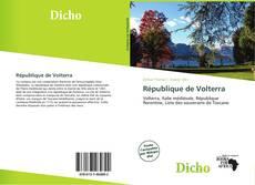 Capa do livro de République de Volterra