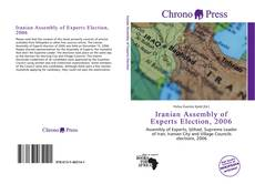 Couverture de Iranian Assembly of Experts Election, 2006