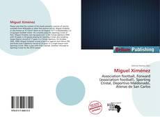 Miguel Ximénez kitap kapağı
