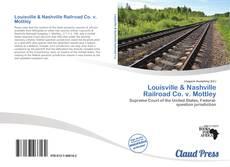 Portada del libro de Louisville & Nashville Railroad Co. v. Mottley