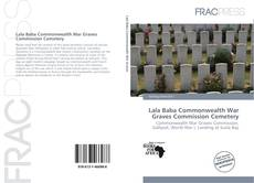 Capa do livro de Lala Baba Commonwealth War Graves Commission Cemetery