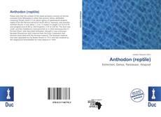 Обложка Anthodon (reptile)