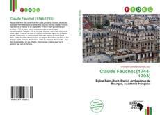 Buchcover von Claude Fauchet (1744-1793)