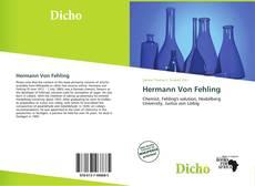 Hermann Von Fehling kitap kapağı