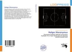 Обложка Holger Hieronymus