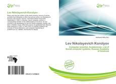 Bookcover of Lev Nikolayevich Korolyov