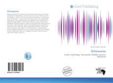 Atlasaurus kitap kapağı