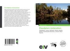 Capa do livro de Floodplain restoration