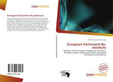 Bookcover of European Parliament By-elections
