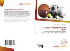 Portada del libro de Congrès Olympique de 1894