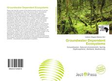 Buchcover von Groundwater Dependent Ecosystems
