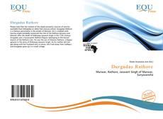 Capa do livro de Durgadas Rathore