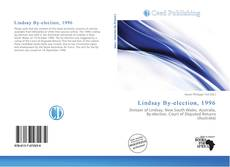 Bookcover of Lindsay By-election, 1996